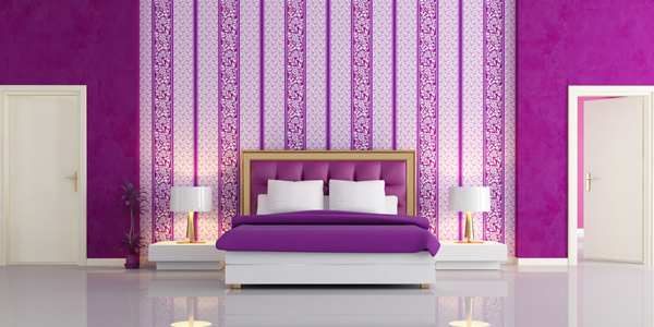 Use wallpaper. Tips in Decorating Small Bedrooms   Home Design Lover