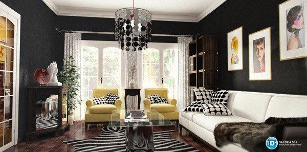 color combinations. 16 Contemporary Living Room Ideas   Home Design Lover