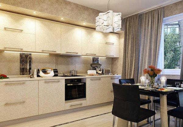 Kitchen Curtains bistro style kitchen curtains : 15 Lovely Kitchen Curtain Ideas | Home Design Lover