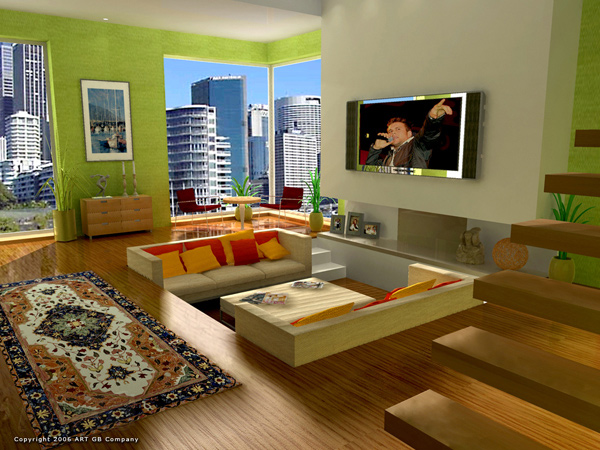 Apple Green Living Room Walls Beige Wall Color That Was All Over