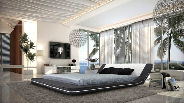 . 15 Black and White Bedroom Ideas   Home Design Lover