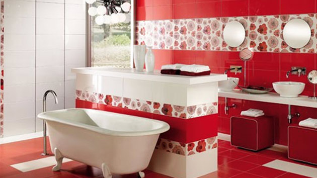 15 lovely bathrooms with decorative wall tiles home