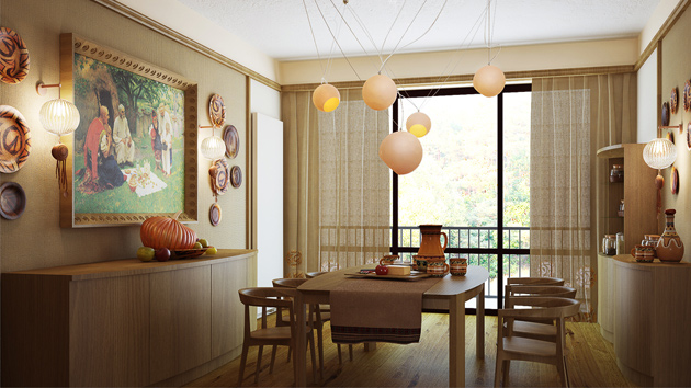 15 Gorgeous Dining Room CurtainsHome Design Lover