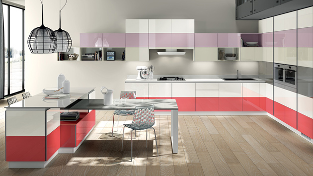 modern kitchen color schemes  home design lover,Modern Kitchen Colors,Kitchen ideas