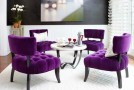 purple dining ideas