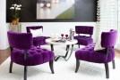 purple dining ideas