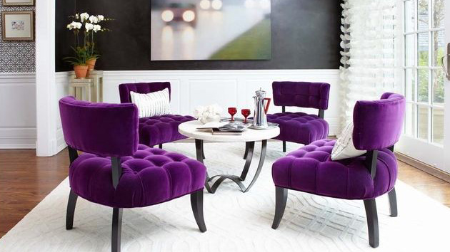 15 Purple Dining Room Ideas | Home Design Lover