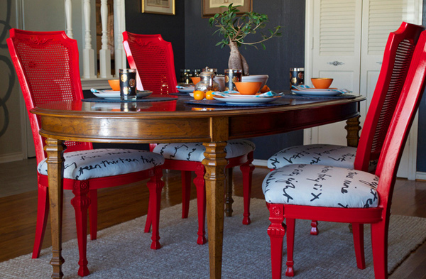 15 Dining Room Designs with a Red Touch | Home Design Lover