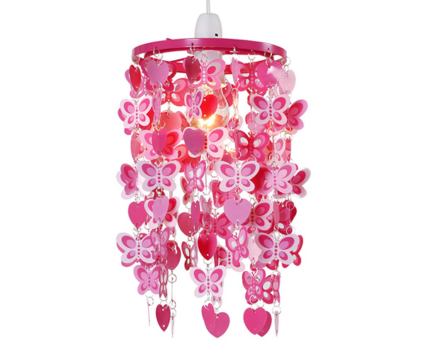 Hearts and Butterflies Ceiling Light