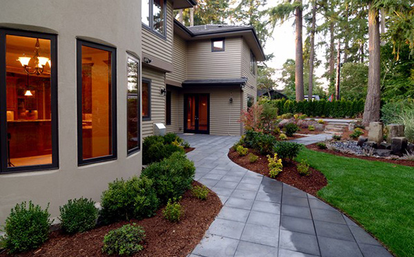 Backyard Pathways Designs walkways and garden Tiles