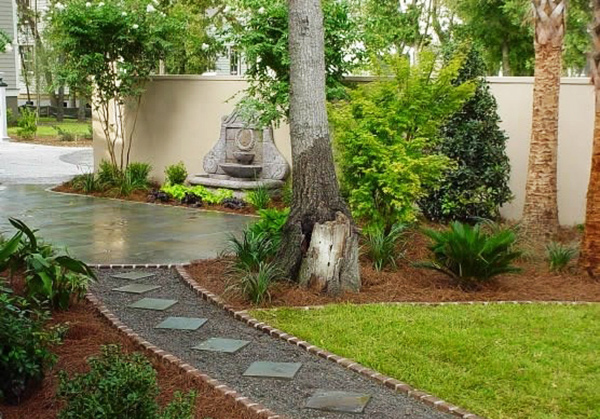 Backyard Pathways Designs artistic backyard pathways designs with rocks and stones 5 Outdoor Landscape