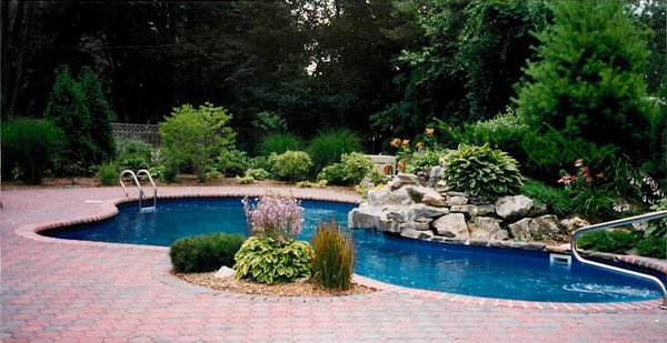 pool landscape design ideas  home design lover, pool landscaping ideas, pool landscaping ideas australia, pool landscaping ideas brisbane