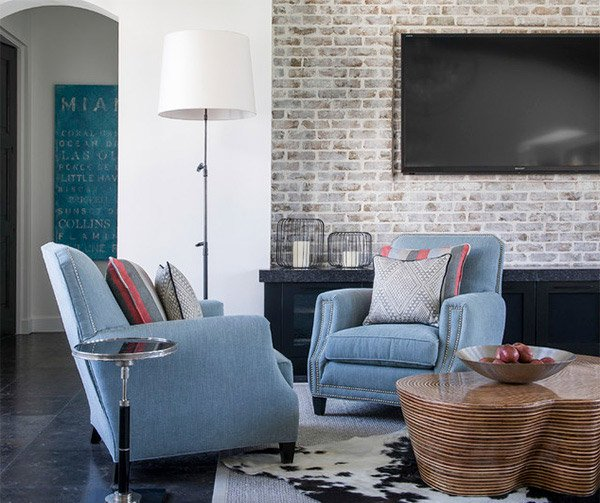 brick accent walls