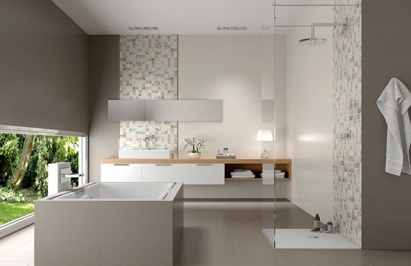 15 Creative Bathroom Tiles Ideas | Home Design Lover