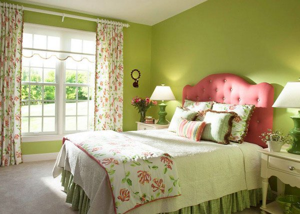 Cheery Pink and Green