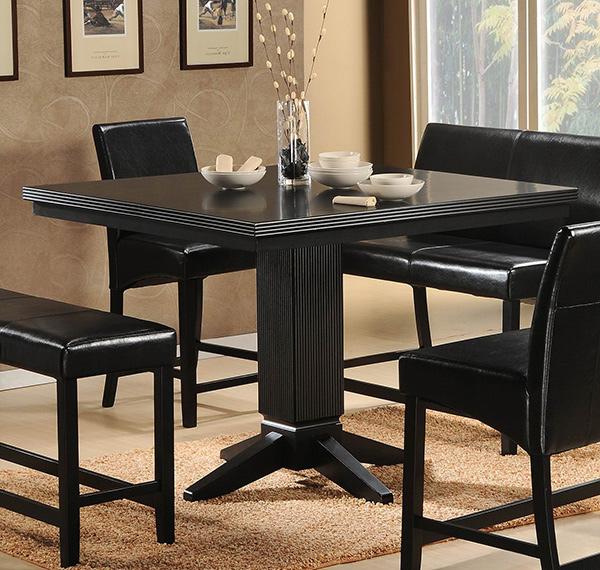 simple design  papario simple design: black kitchen dining sets