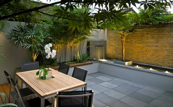 contemporary courtyard gardens - Courtyard Design Ideas