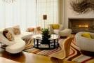 curved modular sofa