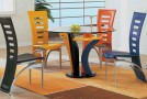 multi colored dining