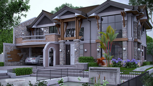Striking Collection Of 15 Houses With Terrace Home Design Lover