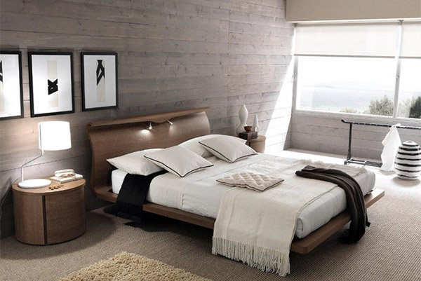 Europeo Bedrooms Panel. 20 Bedrooms with Wooden Panel Walls   Home Design Lover