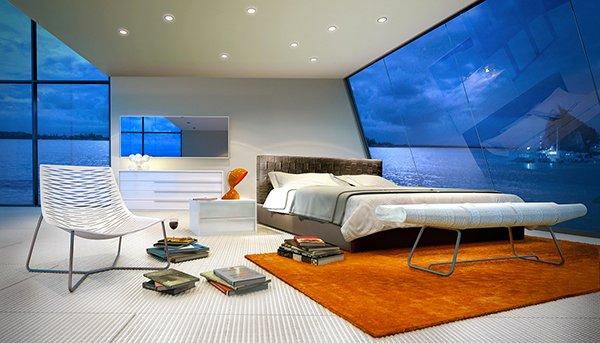 elegant design bed