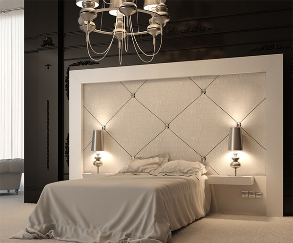 elegant modern bedroom