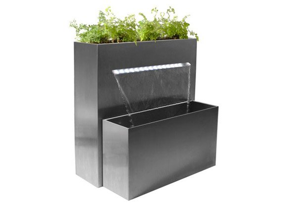 Falls Large Rectangular Planter Waterfall Cascade