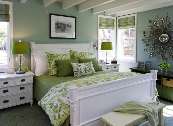 Affordable Bedroom Color Ideas Home Design Lover With Green Wall Paint  Bedroom