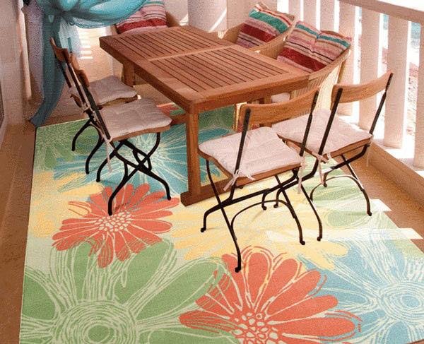 Nourison Home & Garden Indoor / Outdoor Ivory Rug