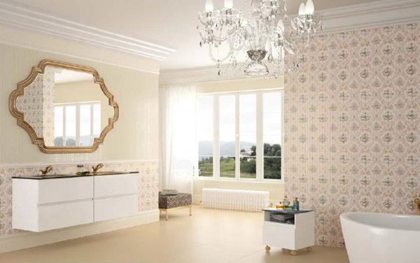 beige palette bathroom
