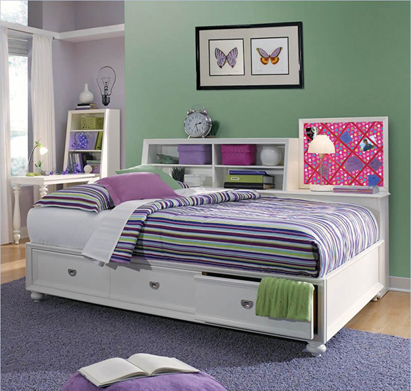 wooden platform. Combine Beauty and Function in 15 Storage Platform Beds   Home