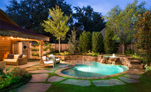 amazing backyard pool ideas  home design lover, Backyard Ideas