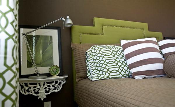 Green Guest Bedroom