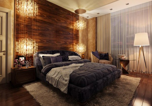 Bedroom Wood Panel - 20 Bedrooms With Wooden Panel Walls Home Design Lover