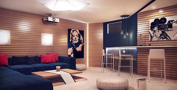 Recreation Room, Cinema room