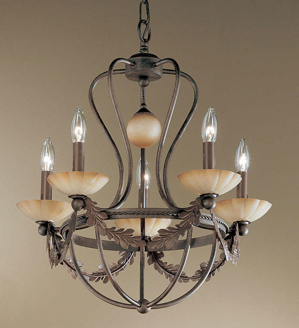 20 Wrought Iron Chandeliers – Rot Iron Chandeliers