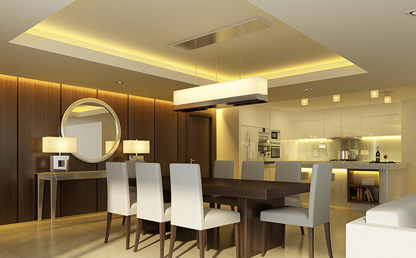 prestige dining - Wooden Wall Paneling Designs