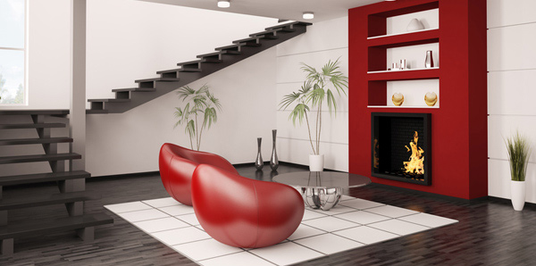 Place furniture with glass in safe areas