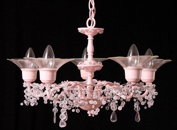 Ruler of All Pink Chandeliers