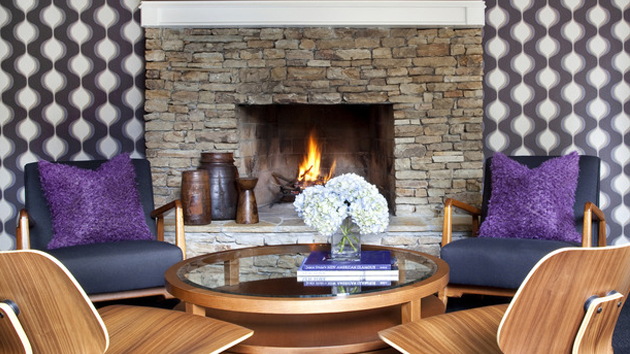 15 Lovely and Stylish Living Room FireplacesHome Design Lover