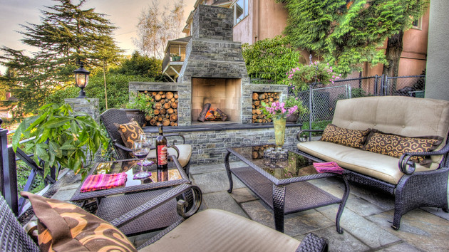 - 15 Outdoor Stone Fireplaces To Love Home Design Lover