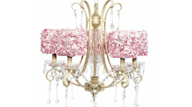 . 15 Alluring Pink Chandeliers for a Girl s Bedroom   Home Design Lover