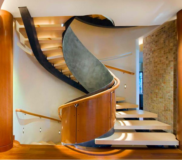 Stairs Design Ideas pantone stairs by tamotsu yagi design thanks style files Residential Staircase Designs