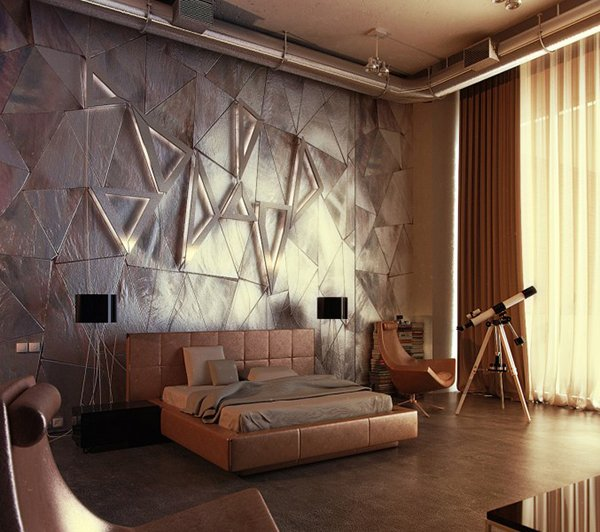 triangles - Textured Wall Designs