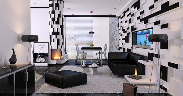 3D geometric wall design