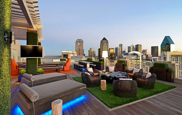 Private Residence - Modern Rooftop Garden