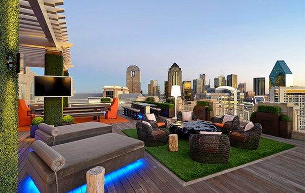 pergola rooftop