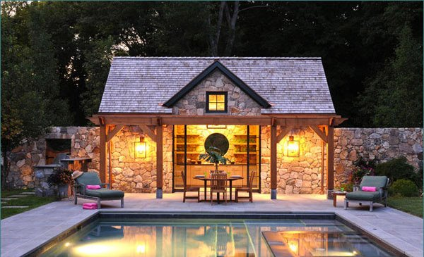 pool area designs - Pool House Designs Ideas