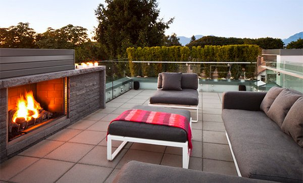 roof fireplace